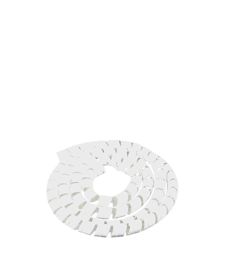 Espiral Tubo Branco SWB06-BR Diâmetro 4-6mm ou 1/4