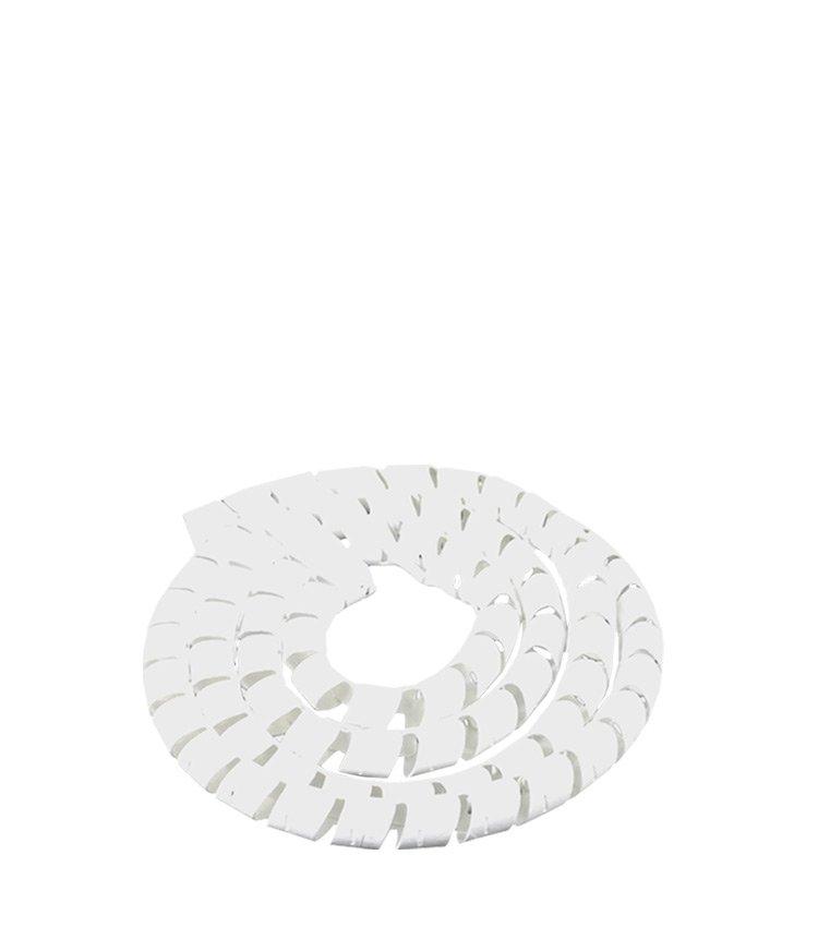 Espiral Tubo Branco SWB08-BR Diâmetro 6-8mm ou 5/16