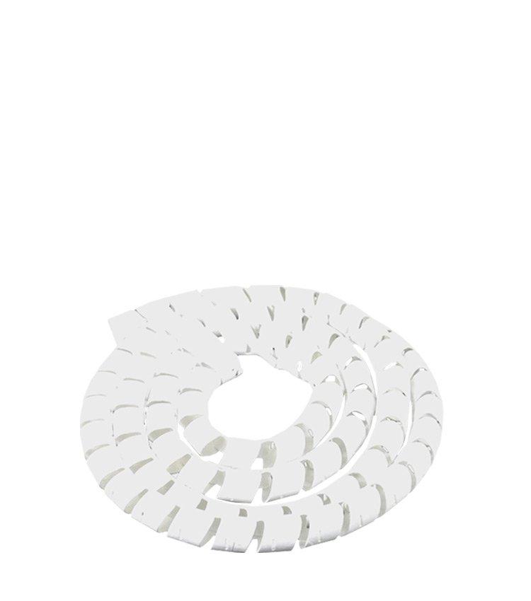 Espiral Tubo Branco SWB10-BR Diâmetro 8-10mm ou 3/8