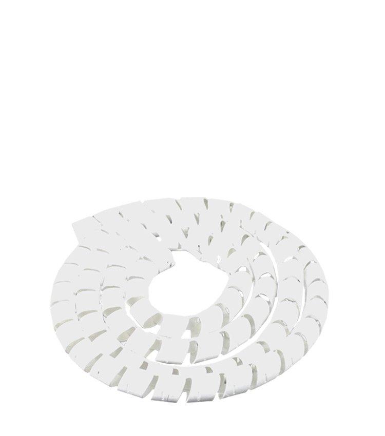 Espiral Tubo Branco SWB12-BR Diâmetro 10-12mm ou 1/2