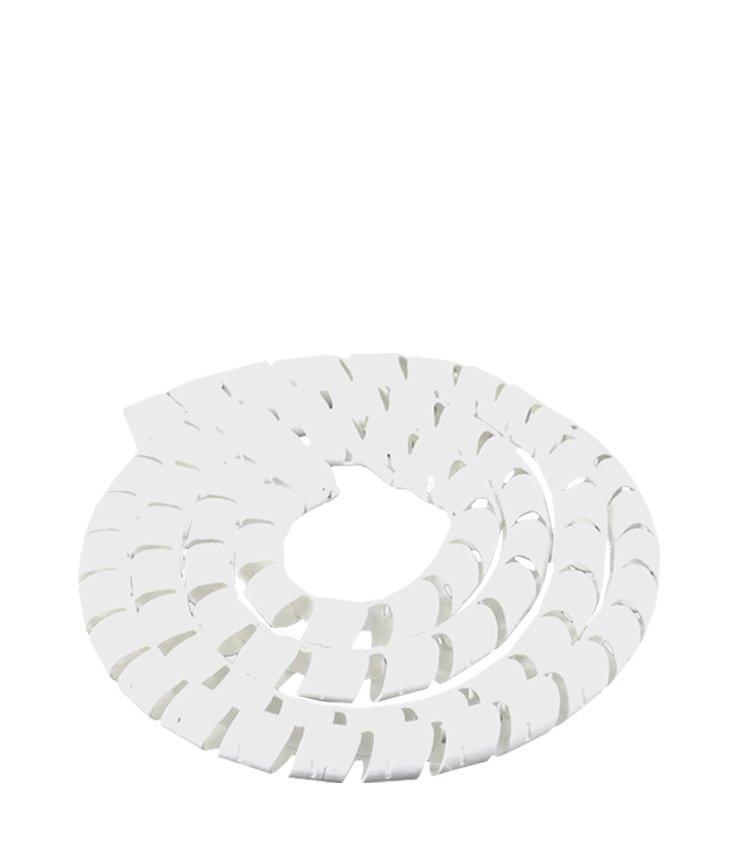 Espiral Tubo Branco SWB15-BR Diâmetro 12-15mm ou 5/8