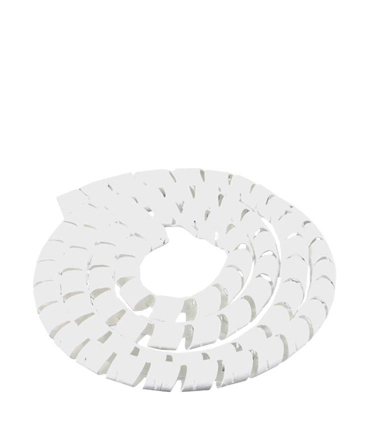 Espiral Tubo Branco SWB19-BR Diâmetro 15-19mm ou 3/4