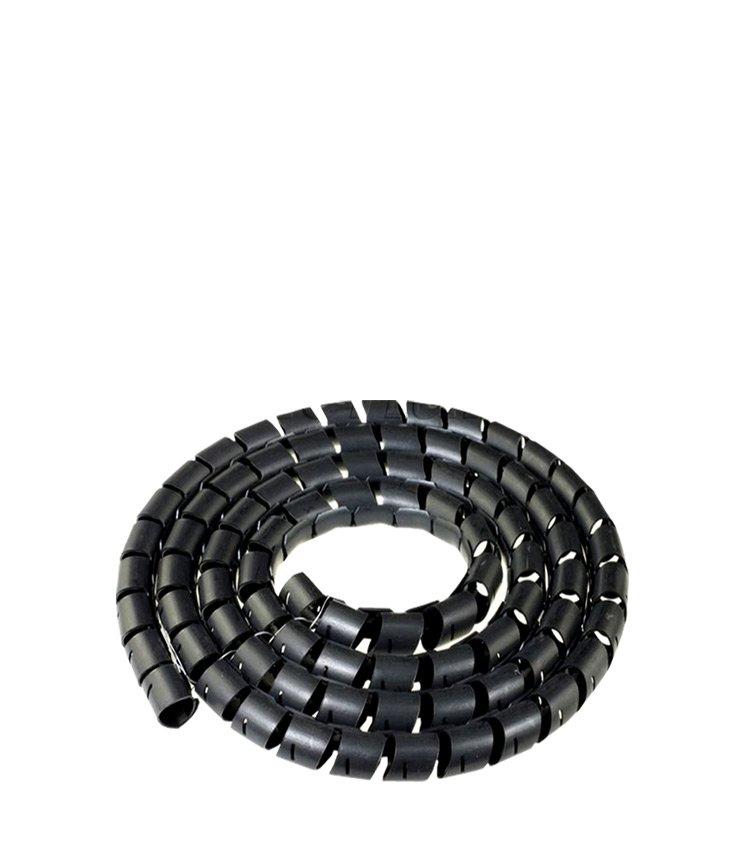 Espiral Tubo Preto SWB06-PT Diâmetro 4-6mm ou 1/4