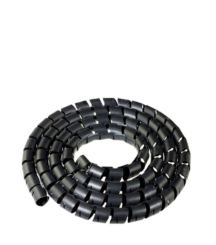 Espiral Tubo Preto SWB10-PT Diâmetro 8-10mm ou 3/8