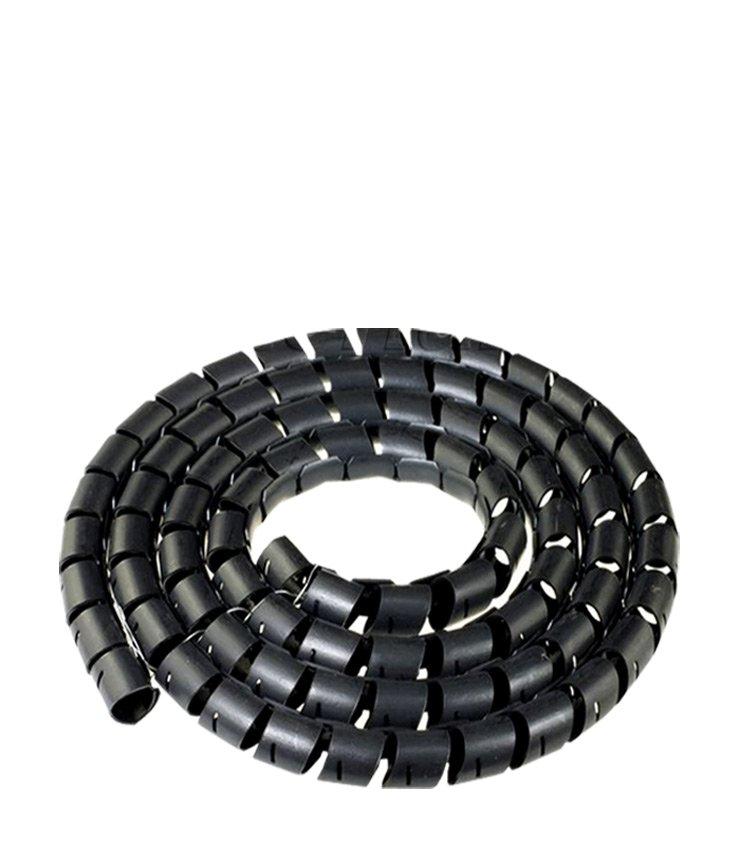 Espiral Tubo Preto SWB12-PT Diâmetro 10-12mm ou 1/2