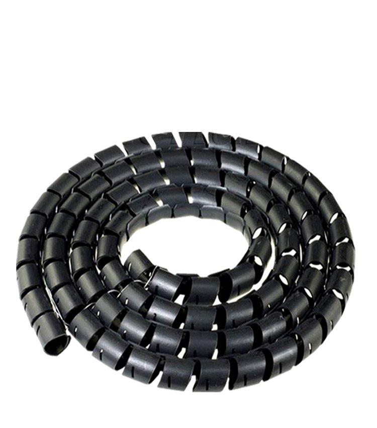 Espiral Tubo Preto SWB19-PT Diâmetro 15-19mm ou 3/4
