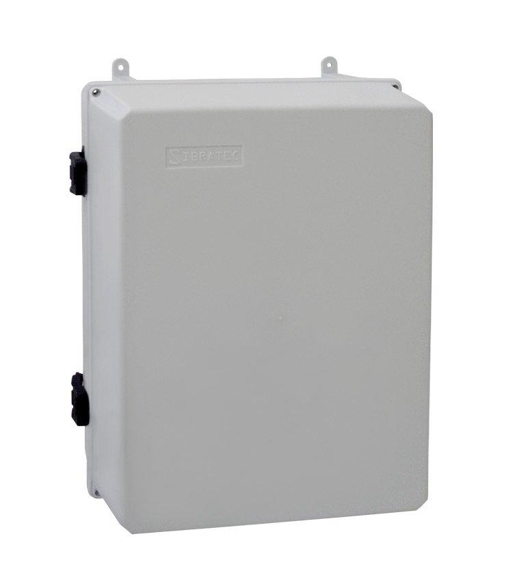 Caixa Plástica Multiuso Grande C350x260x170mm Com Fecho