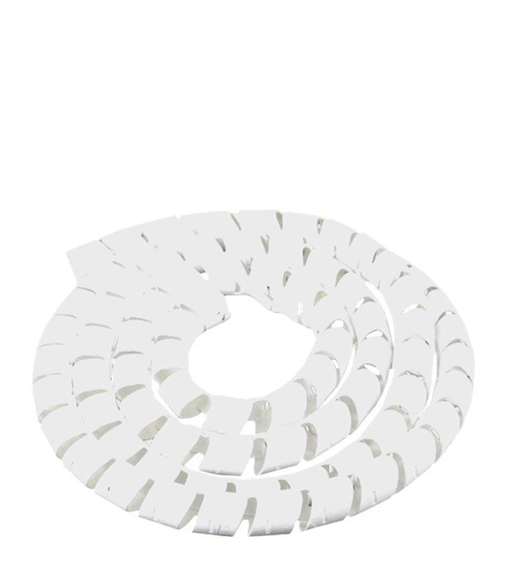 Espiral Tubo Branco SWB24-BR Diâmetro 19-24mm ou 1