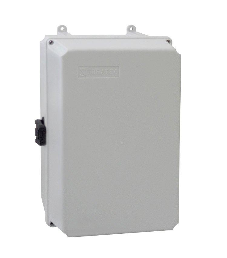 Caixa Plástica Multiuso Média C280x180x140mm Com Fecho
