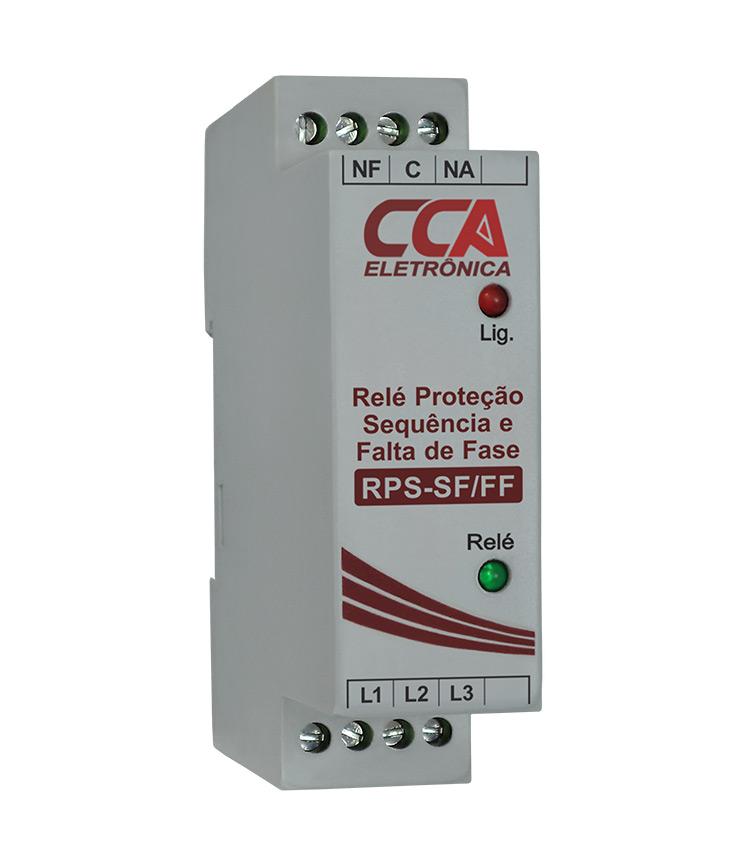 Relé de Proteção Sequencia e Falta de Fase 380V