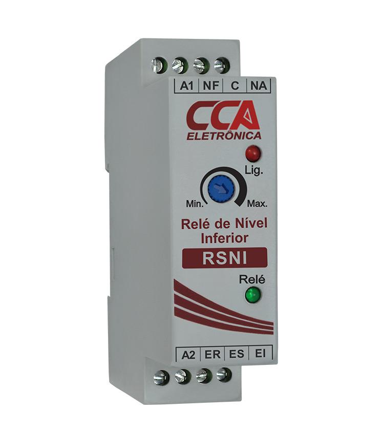 Relé de Nível RSNI Inferior 3 Eletrodos 24Vcc (Para Esvaziamento)