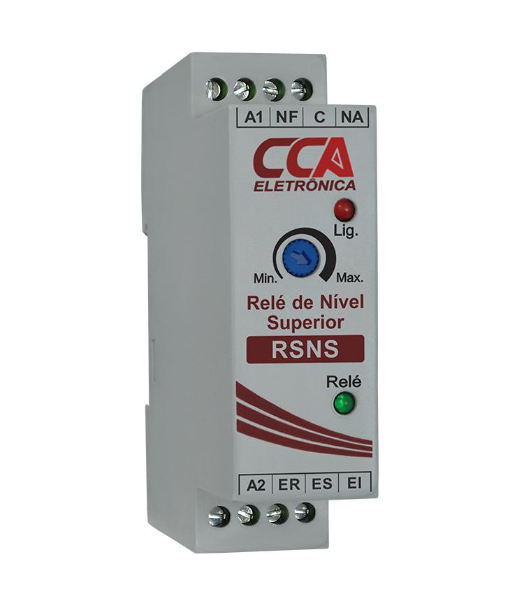 Relé de Nível RSNS Superior 3 Eletrodos 220Vca (Para Enchimento)