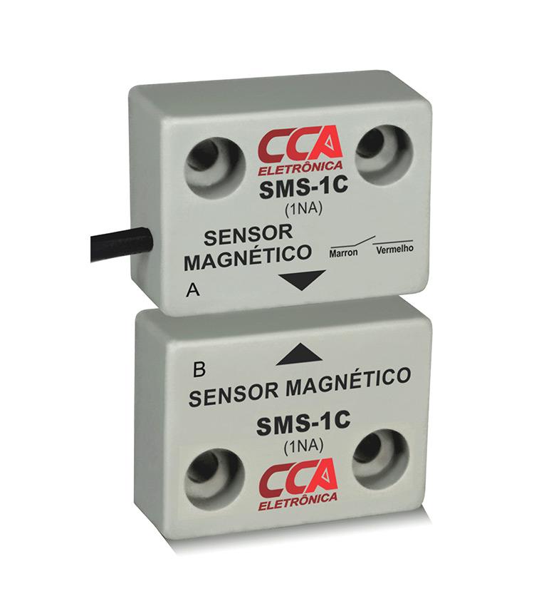 Sensor Magnético de Proximidade. Emissor + Receptor  - Contato: 1NA