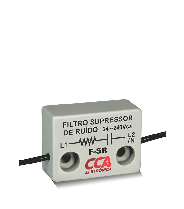 Filtro Supressor de Ruído F-SR - Para Corrente Alternada 24~240Vca