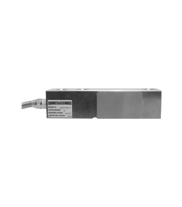 Célula de Carga I130X-1T-V3 - Capacidade 1.000Kg - Aço - M12 - IP66 - 3mv  (CI130.31.31.X-1T)