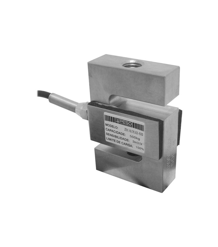 Célula de Carga Z51.19.76.A2-500 - Capacidade 500Kg - Aço - M12 - IP66