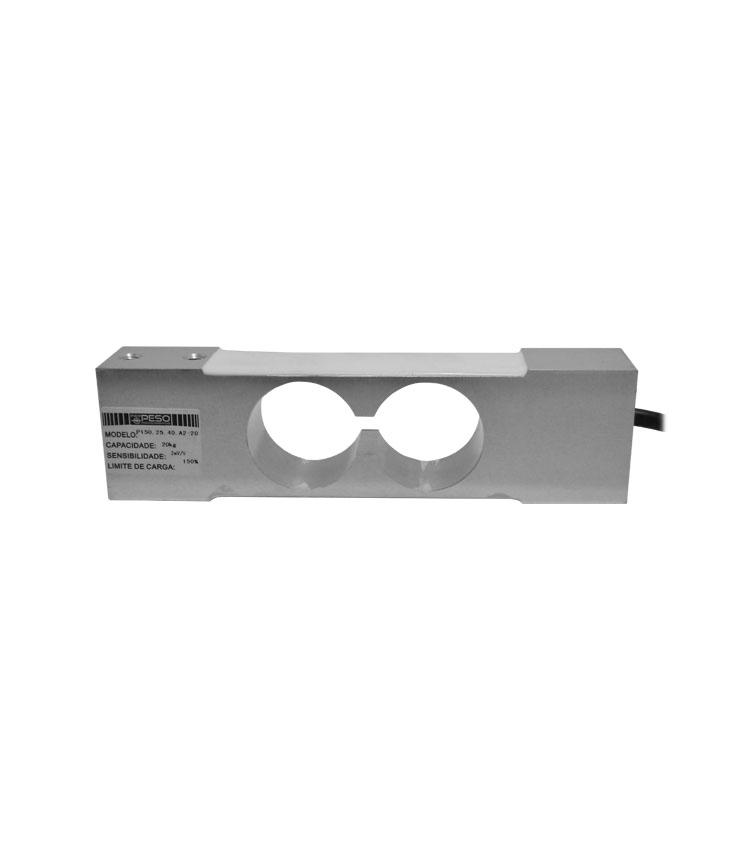 Célula de Carga P150-20 - Capacidade 20Kg - Alumínio - M6 - IP66  (CP150.25.40-20)