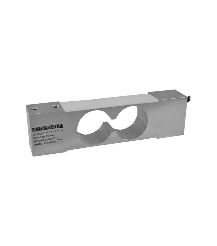 Célula de Carga P150.25.40.A2-10 - Capacidade 10Kg - Alumínio - M6 - IP66