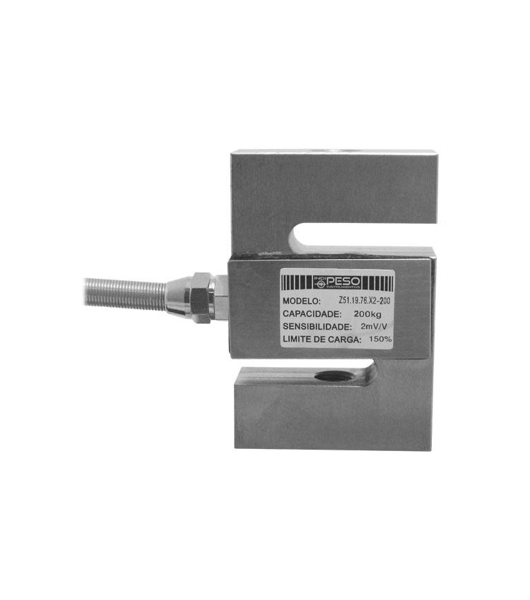 Célula de Carga SZ51X-200 - Capacidade 200Kg - Aço - M12 - IP66  (CZ51.19.76-200)