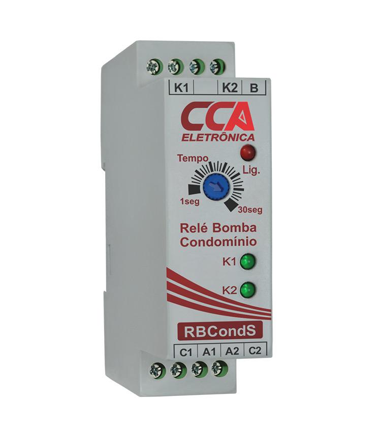 Relé Bomba Condomínio 220V (Acionamento Alternado) - RBCONDS-220V
