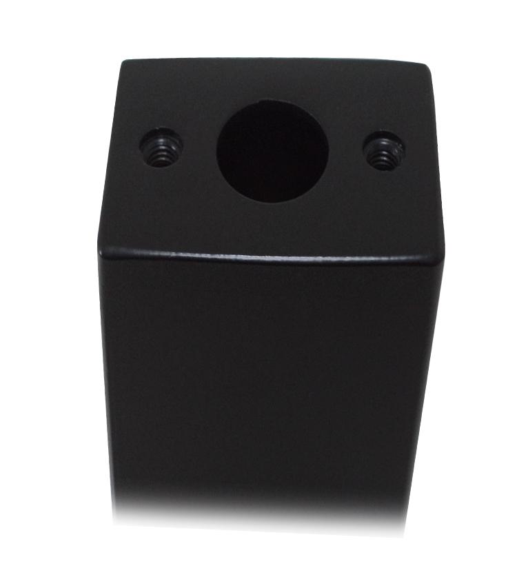 Coluna para Balança 200mm Cor Preto fosco