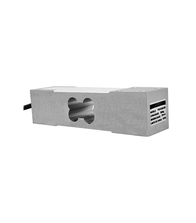 Célula de Carga P150A2-300 - Capacidade 300Kg - Alumínio - M6 - IP66  (P150.38.38.A2-300)