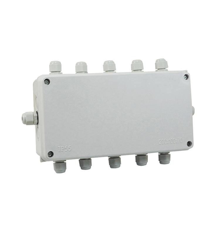 Caixa de Junção para 2 até 10 Células de Carga Rodoviária - Ajuste Simples CXJ10S