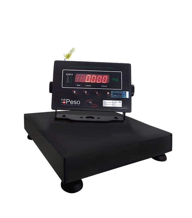 Balança de Bancada Standard BP-30BS.3030.A - Capacidade 30Kg(5g) - Plataforma 30x30cm - Sem Coluna - Material Aço