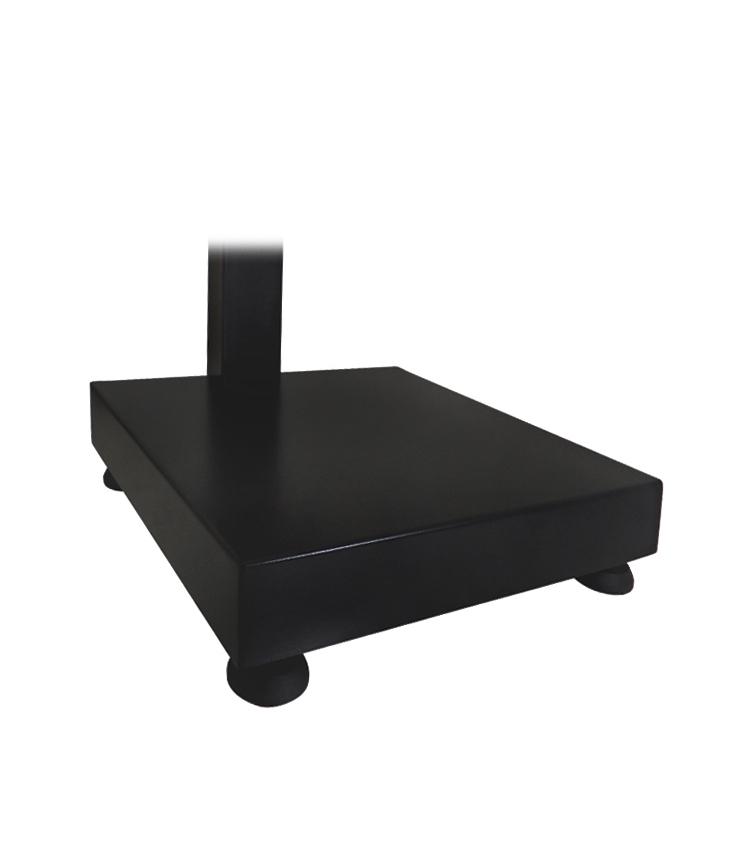 Balança de Bancada Standard BP-40BS.3030.AC - Capacidade 40Kg(10g) - Plataforma 30x30cm - Com Coluna - Material Aço