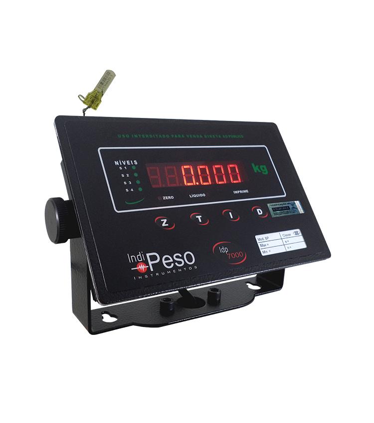 Balança de Bancada Standard BP-60BS.4040.AI - Capacidade 60Kg(10g) - Plataforma 40x40cm - Sem Coluna - Material Aço - Bandeja Inox