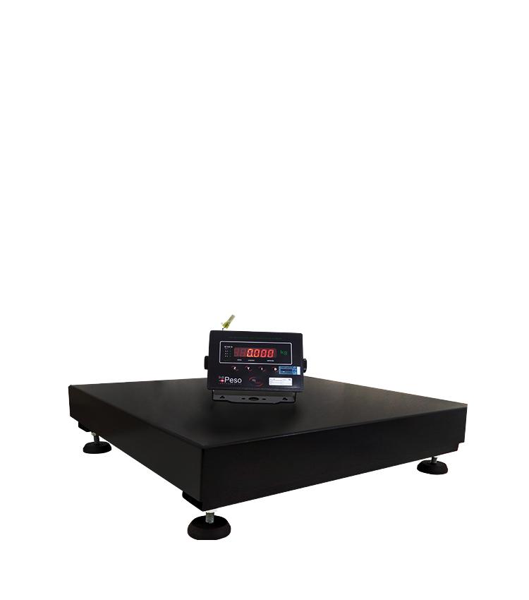 Balança de Piso Standard BP-200PS.5050.A - Capacidade 200Kg(50g) - Plataforma 50x50cm - Sem Coluna - Material Aço