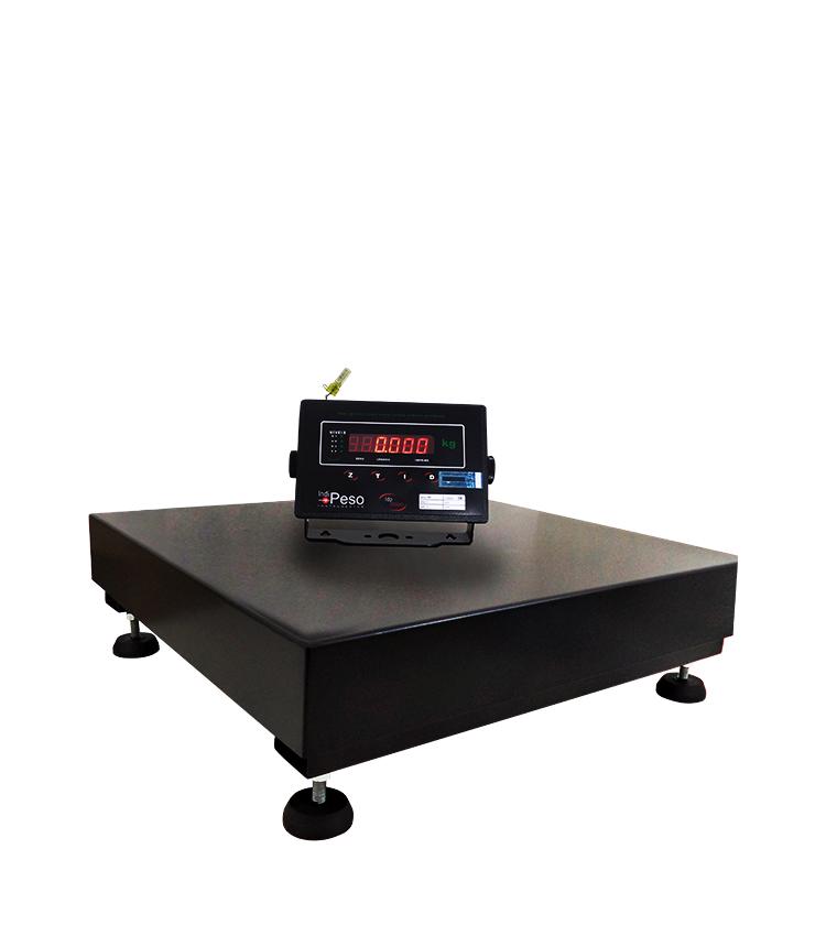 Balança de Piso Standard BP-100PS.4040.A - Capacidade 100Kg(20g) - Plataforma 40x40cm - Sem Coluna - Material Aço