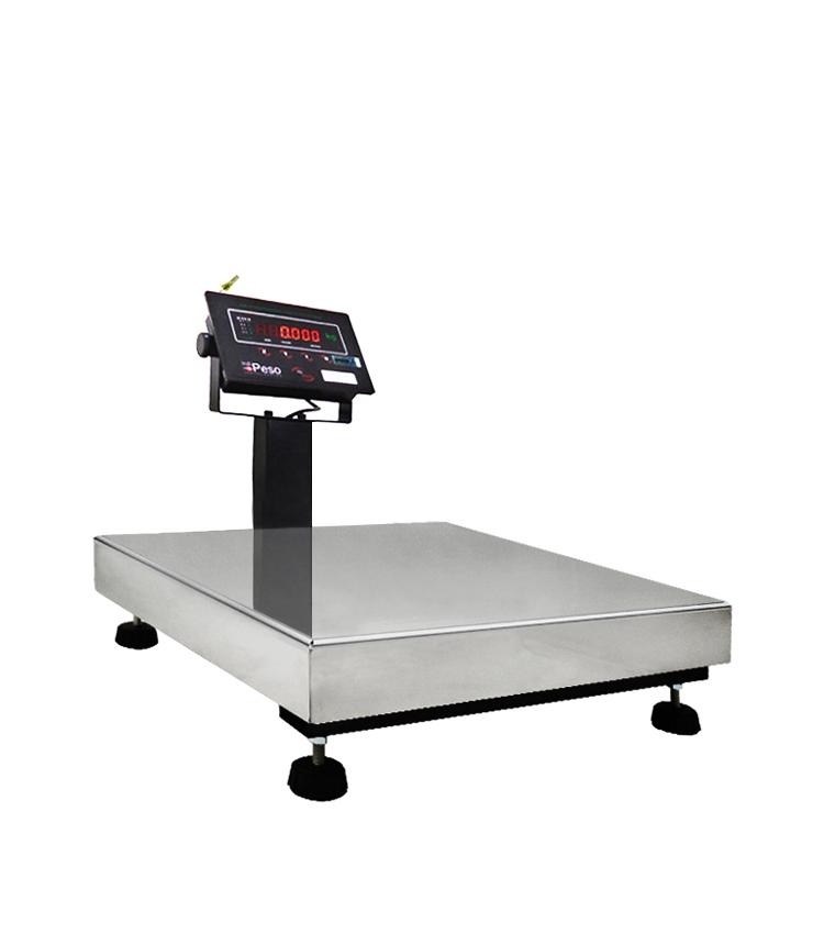 Balança de Bancada Standard BP-60BS.4040.AIC - Capacidade 60Kg(10g) - Plataforma 40x40cm - Com Coluna - Material Aço - Bandeja Inox