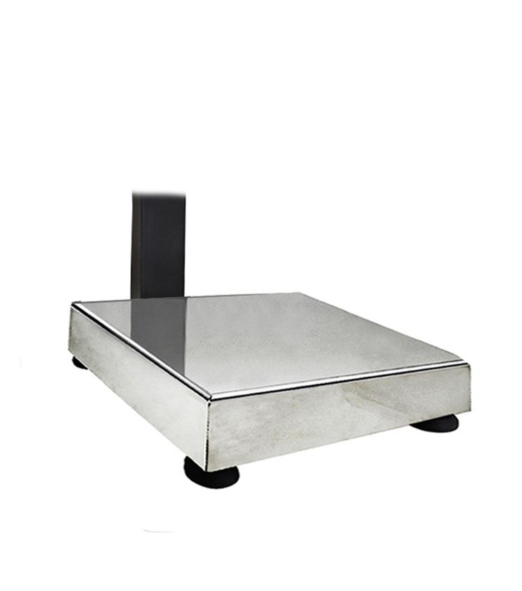 Balança de Bancada Standard BP-30BS.3030.AIC - Capacidade 30Kg(5g) - Plataforma 30x30cm - Com Coluna - Material Aço - Bandeja Inox