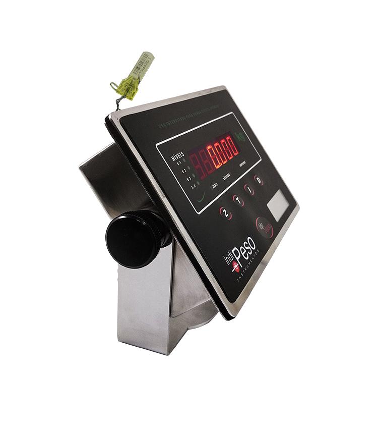 Indicador de Peso IDP7000I LINE em INOX - 176x115mm