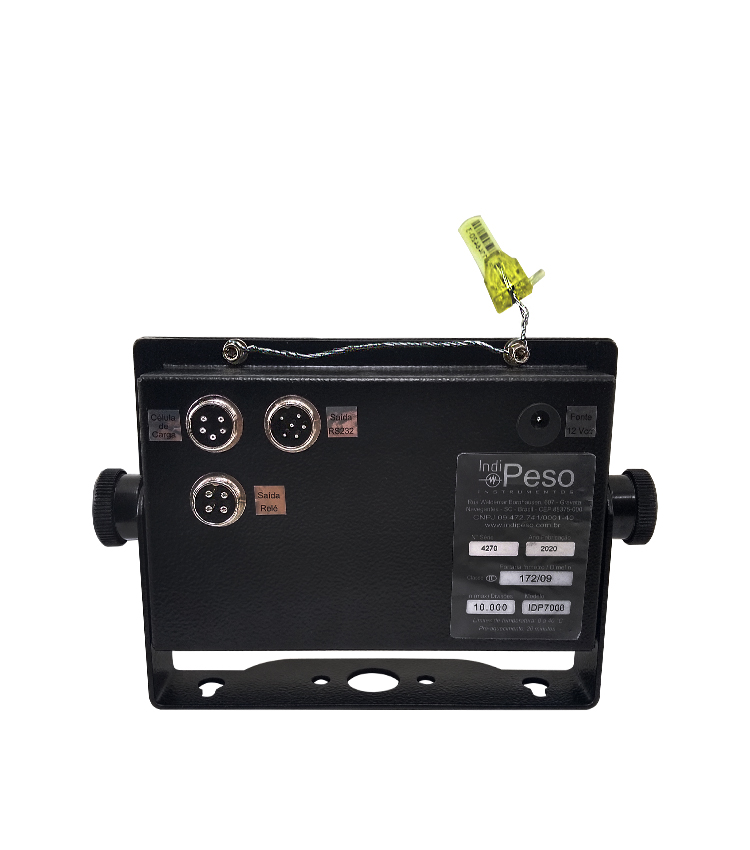 Indicador de Peso IDP7000 LINE  em Aço Carbono com 2 Saídas - 176x115mm