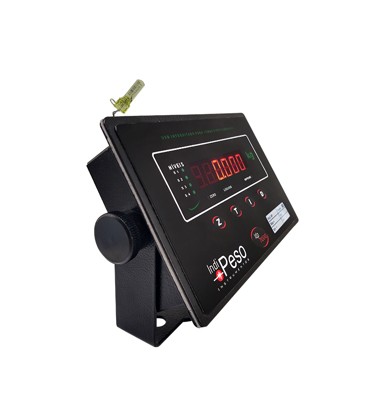 Indicador de Peso IDP7000 UNO com Bateria em Aço Carbono 176x115mm