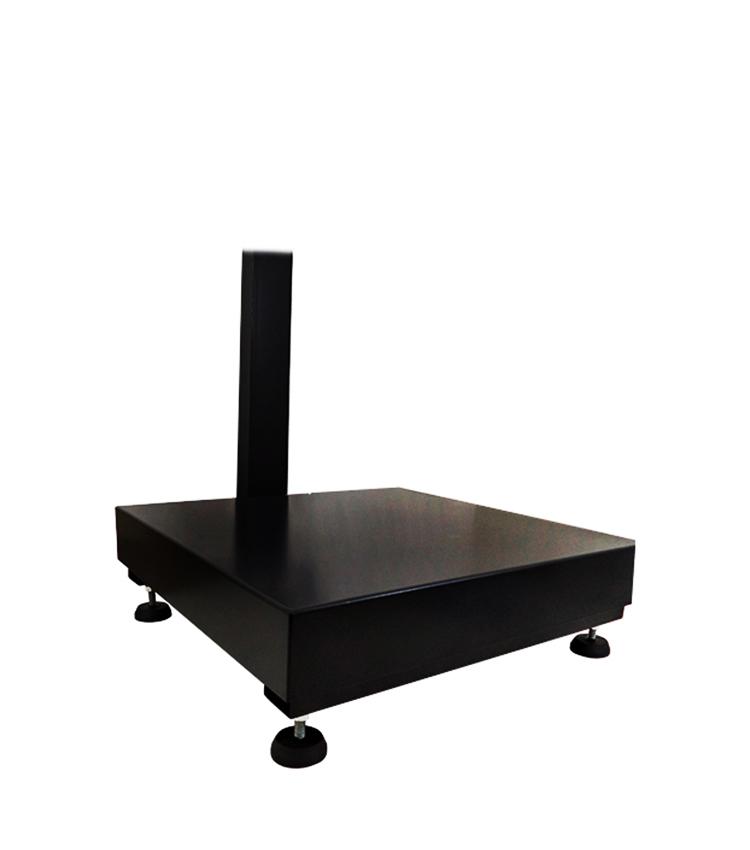 Balança de Piso Standard BP-200PS.4040.AC - Capacidade 200Kg(50g) - Plataforma 40x40cm - Com Coluna - Material Aço